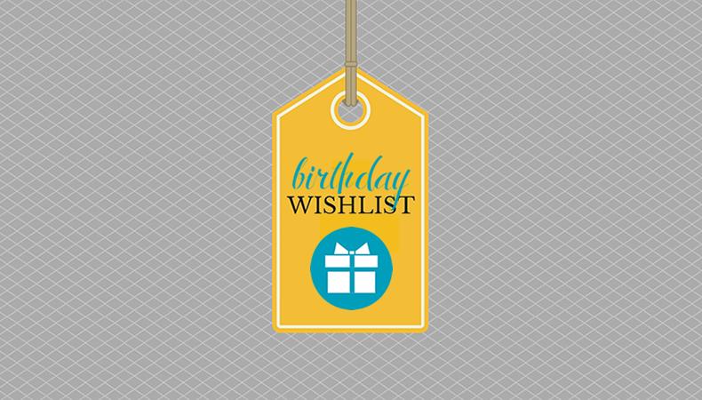 Wishlist De Aniversário2017