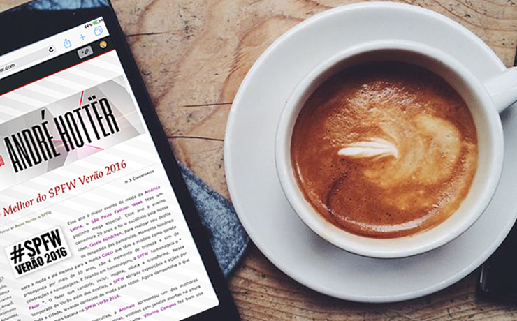 Café e Blog