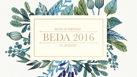 BEDA-Blog-Every-Day-August-2016