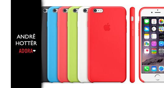 Capa-Apple-iPhone-Silicone-Coloridas