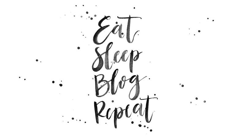 Eat Sleep BlogRepeat