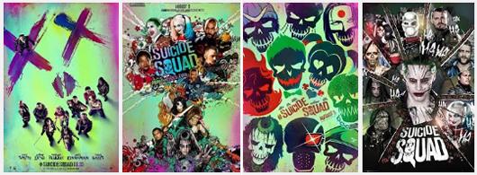 Esquadrão-Suicida-Posters