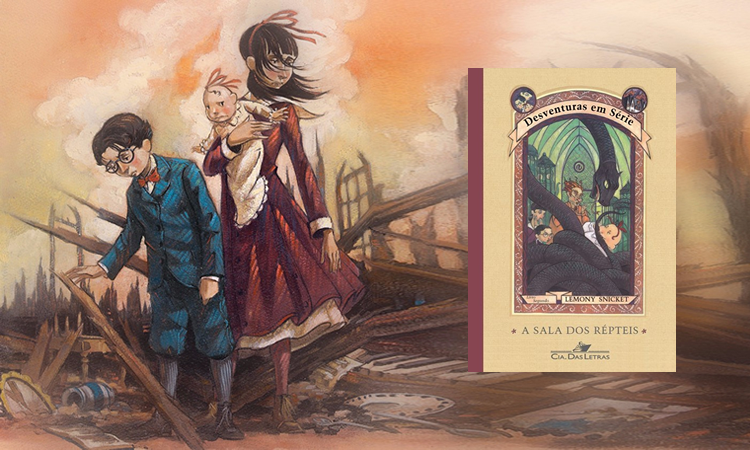 Livro: Desventuras Em Série – A Sala Dos Répteis – LemonySnicket