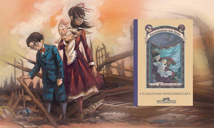 Livro: Desventuras Em Série – O Lago Das Sanguessugas – LemonySnicket